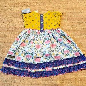Matilda Jane Matching Sets - NWT Matilda Jane Dream Big Dress, Pants & Bloomers